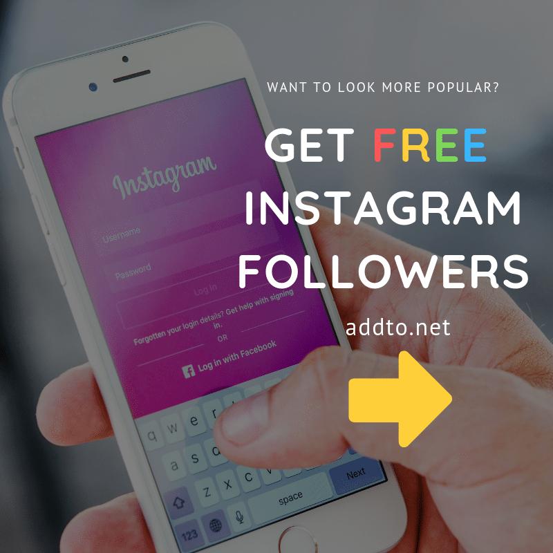 Free Instagram Likes - AddTo net | Get Now Free Instagram Likes Free